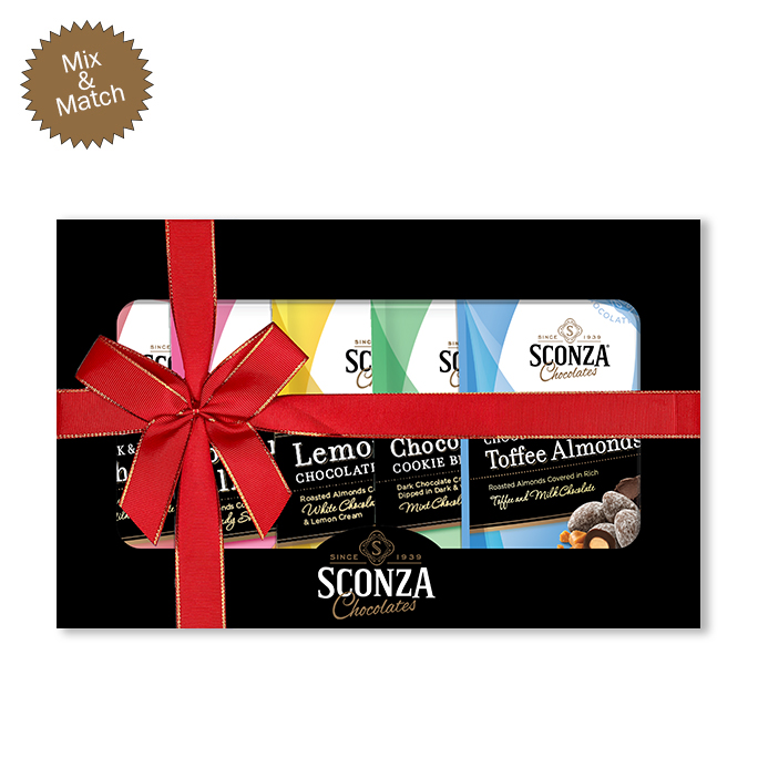 2021 Mix and Match Black Gift Box