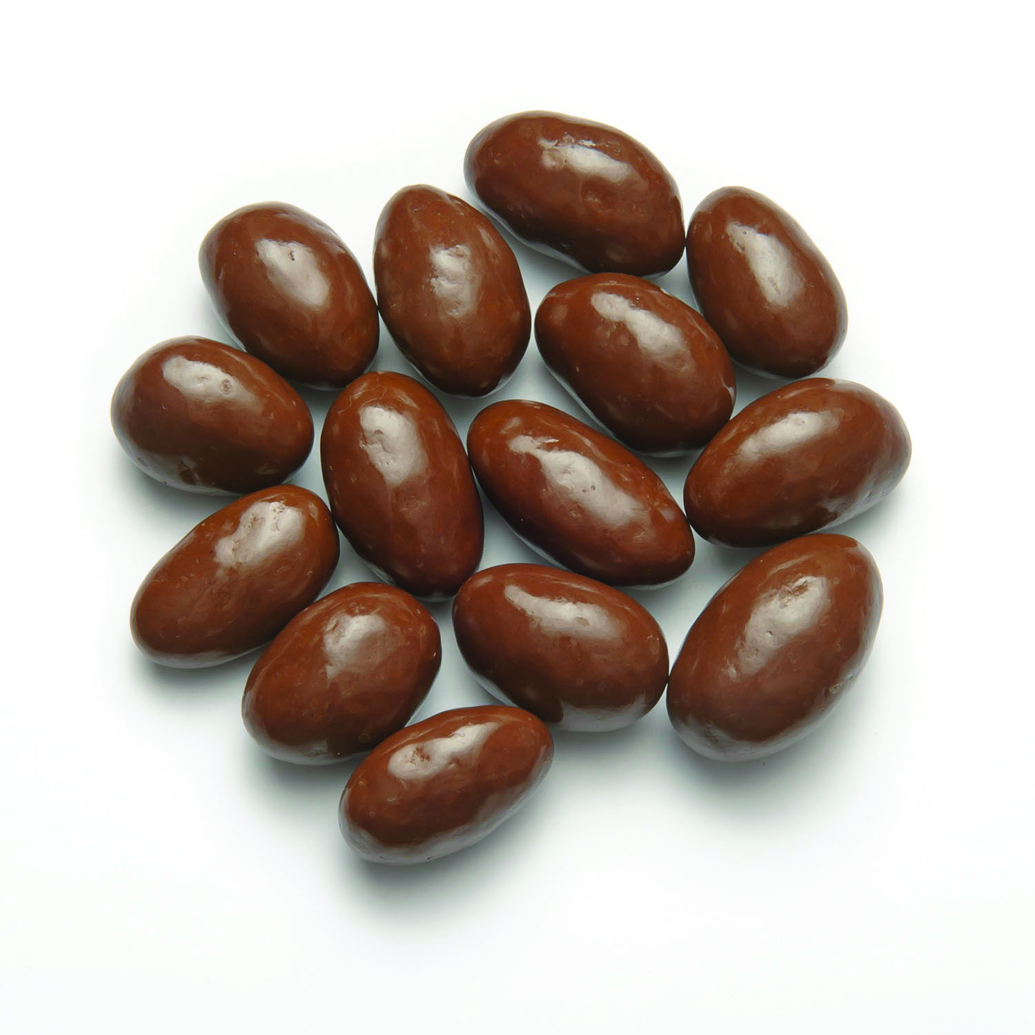 A cluster of Milk Chocolate Almonds